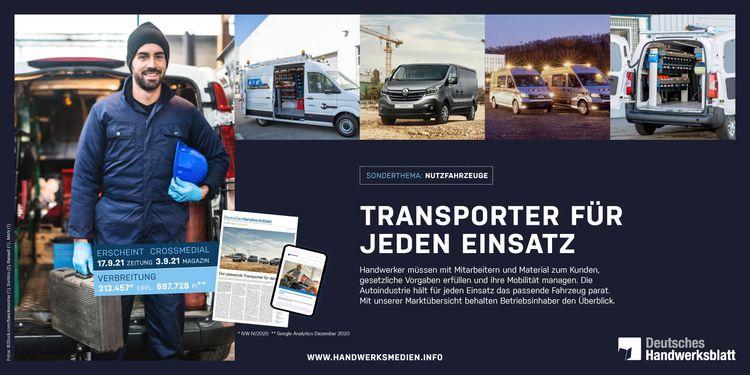 Nutzfahrzeuge - Transporter für jeden Einsatz