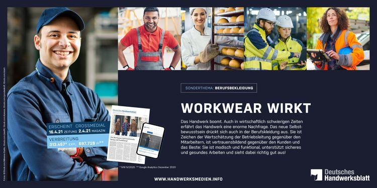 Sicher im Job - Workwear wirkt